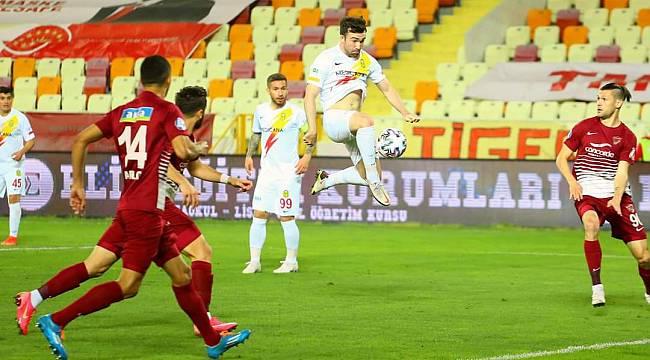 Malatya Lig'de Kalmayı Garantiledi 1-1