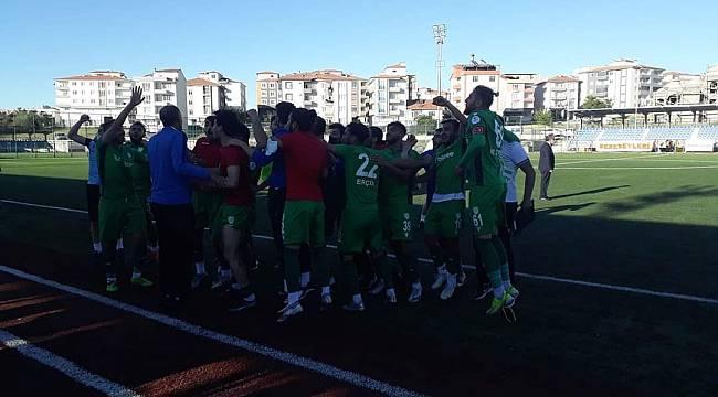 Yeşilyurt Belediyespor Yarı Finalde 1-0