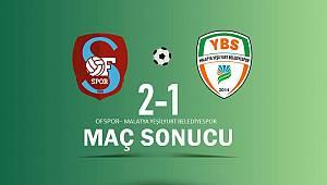 Yeşilyurt Play-Off İlk Maçını Kaybetti 2-1