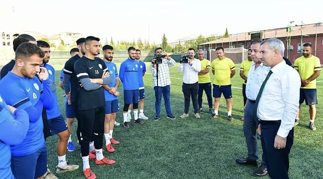 Çınar, Kulübünü Ziyaret Etti