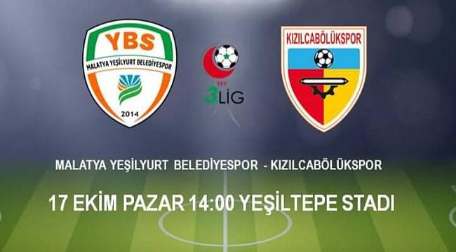 Yeşilyurt Belediyespor-Kızılcabölükspor